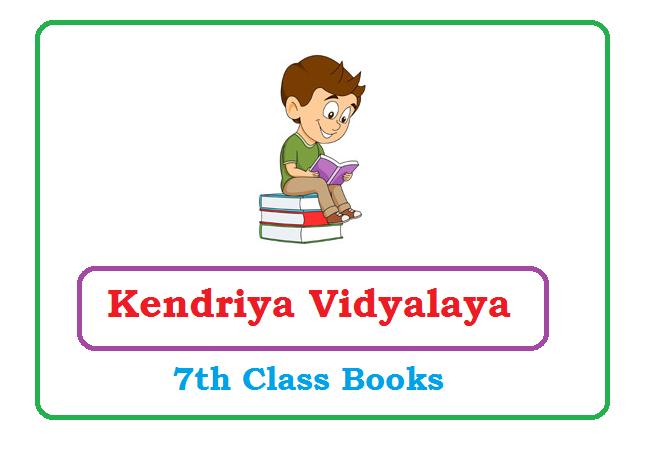 Kendriya Vidyalaya 7th Class Books 2020, KVS 7th Books 2020